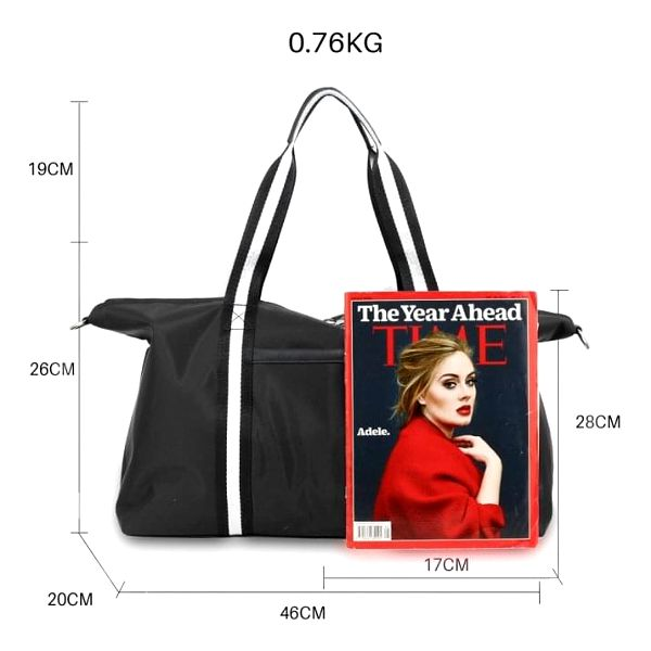 Dámská černá cestovní taška Linny 00214