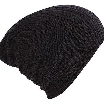 Pletená unisex zimní čepice - Modrá - dodání do 2 dnů