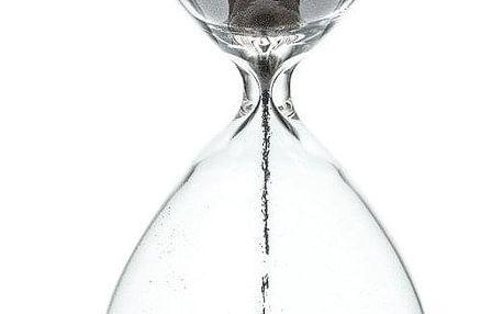 Emako Dekorativní magnetické přesýpací hodiny na dřevěné podložce