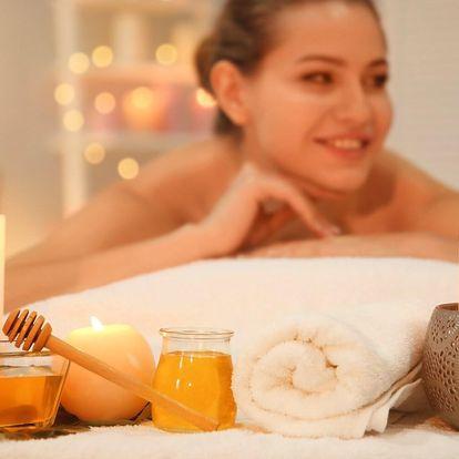 Noční relaxační masáž při svíčkách v délce 90 minut