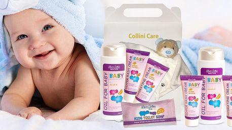 Dětská kosmetika: krém, olej i sada s hračkou