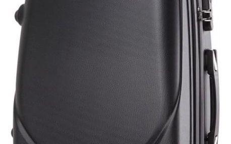 Cestovní kabinový černý kufr Gyna 1602