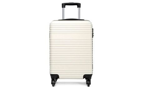 Cestovní kabinový bílý kufr Tevis 1996