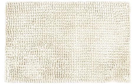Bo-ma Koupelnová předložka Ella micro bílá, 50 x 80 cm