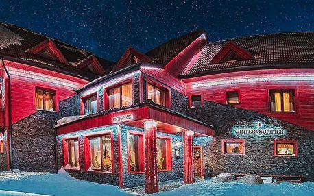 Resort ve Vysokých Tatrách: polopenze i vířivka