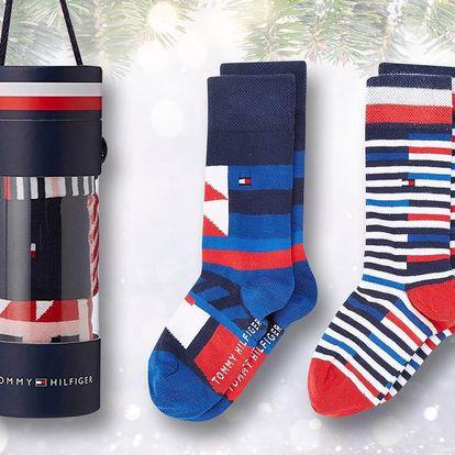Balení 3 párů dětských ponožek Tommy Hilfiger