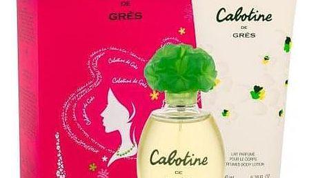 Gres Cabotine dárková kazeta pro ženy toaletní voda 100 ml + tělové mléko 200 ml