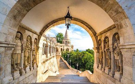 Budapešť přímo v historickém centru v City Hotelu Pilvax *** se snídaní + dítě do 6 let zdarma
