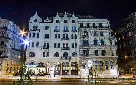 Pobyt přímo v centru Budapešti a nedaleko termálních lázní v City Hotel Matyas *** se snídaní + děti zdarma