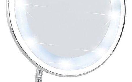 Kosmetické zrcátko STYLE s LED podsvícením, zvětšení x3, WENKO