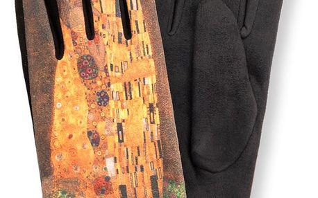 Delfin Dámské rukavice Gustav Klimt- Polibek