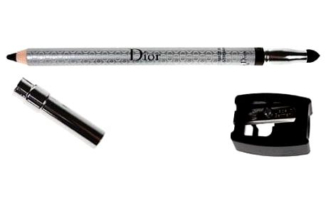 Christian Dior Eyeliner 1,2 g tužka na oči voděodolná pro ženy 094 Trinidad Black