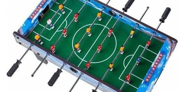 Ecotoys Stolní fotbal 70 x 36 cm, modrá2