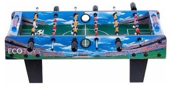 Ecotoys Stolní fotbal 70 x 36 cm, modrá3
