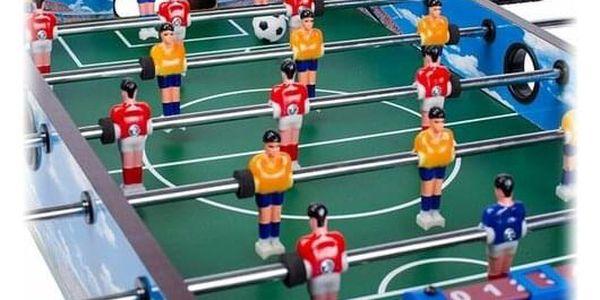 Ecotoys Stolní fotbal 70 x 36 cm, modrá4