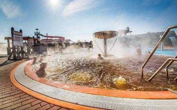 Bešeňová v Hotelu Flóra s polopenzí a slevou do aquaparků + karta Gopass