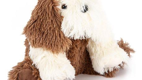 Bo-Ma Trading Plyšový pes Jonatán, hnědá