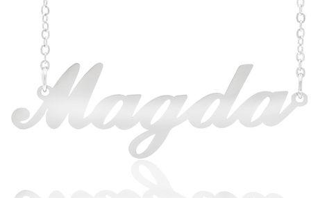 Fashion Icon Ocelový přívěsek jméno Magda