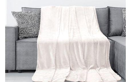 AmeliaHome Deka Tyler krémová, 150 x 200 cm