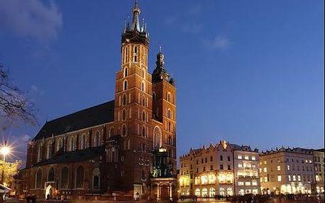 Hotel Petrus v Krakově u parku kousek od centra pro 2 osoby. Děti zdarma