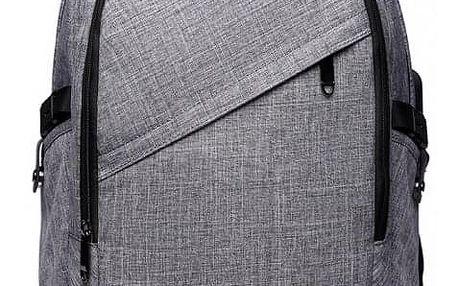 Dámský šedý batoh Hillas 6715