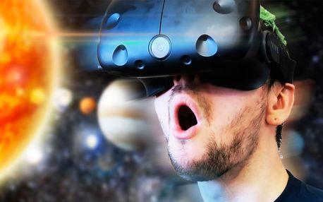 60 nebo 120 minut virtuální reality i permanentka
