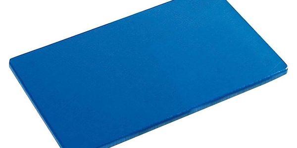 Kesper Řezací deska vyhovující HACCP, plastový sloužící stojan v modré barvě2