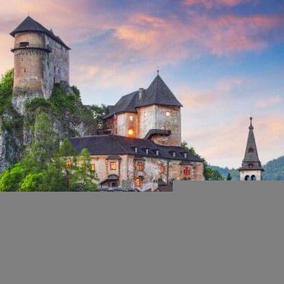 Oravské Beskydy: Wellness Hotel Tyrapol u Oravské lesné železnice s wellness s polopenzí