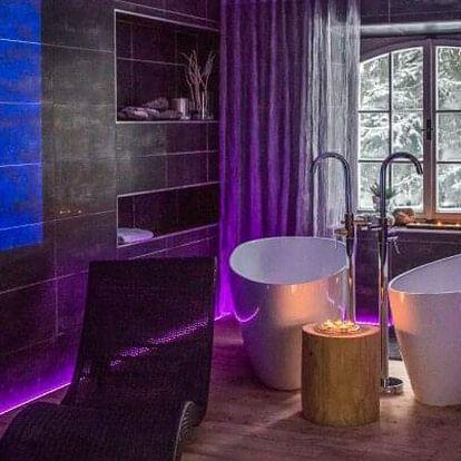 Beskydy: Hotel & Garden U Holubů **** s polopenzí, wellness a bylinnou koupelí