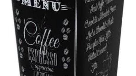 Kis Koš na odpad Chic Bin L - Coffee Menu, 60L
