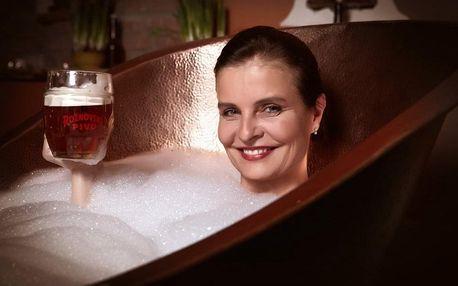 Klasická pivní péče na 1 noc, pivní partnerská kúra speciál pro dva