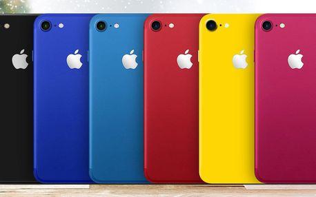 Stylové fólie na iPhone: 7 barevných variant