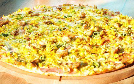 Pizza podle výběru z 26 druhů pro 1–4 osoby
