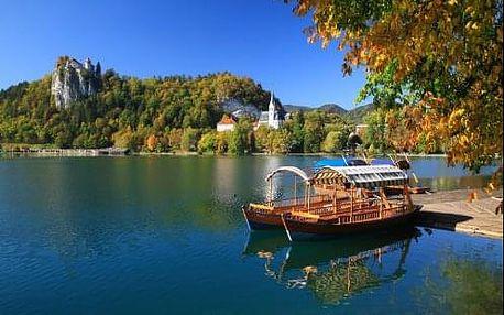 Pobyt v Slovinsku v hotelu Krek kousek od jezera Bled a národního parku Triglav