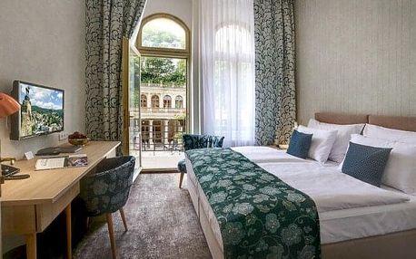Karlovy Vary: ASTORIA Hotel & Medical Spa **** s polopenzí a vřídelní koupelí