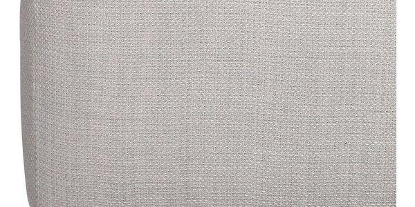 Atmosphera Créateur d'intérieur Čalouněný taburet nadřevěných nožkách, dřevěná stolička, skandinávský taburet, čalouněná stolička, taburet dopředsíně4