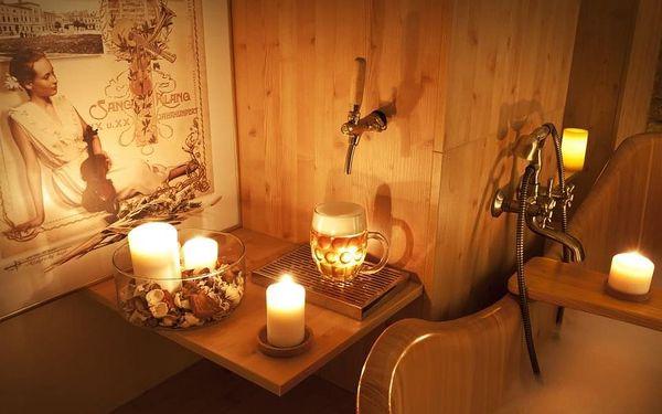 Pivní lázně Oderberg + tříchodové pivní menu pro 2 osoby2