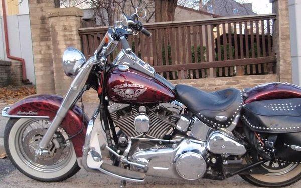 Hodinová spolujízda na Harley - Davidson Softail heritage - 1600 ccm2