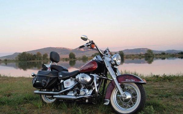 Hodinová spolujízda na Harley - Davidson Softail heritage - 1600 ccm4