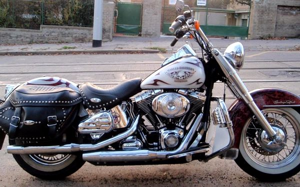 Hodinová spolujízda na Harley - Davidson Softail heritage - 1600 ccm5