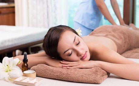 Masáž dle výběru: lymfatická či relaxační olejová