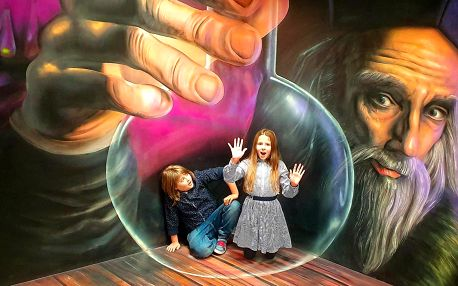 Muzeum fantastických iluzí pro dítě i dospělého