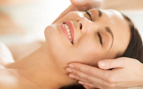 Antistresová masáž obličeje či kosmetické ošetření