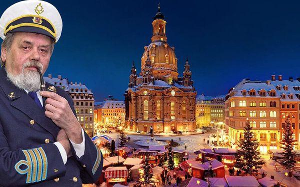 Adventní plavba za nákupy do Drážďan: oběd na palubě a autobusem zpět
