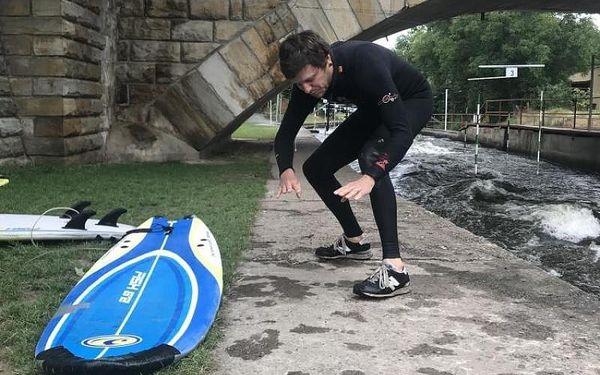 Surfing na řece, 2 hodiny, počet osob: 1, Brandýs nad Labem (Středočeský kraj)4