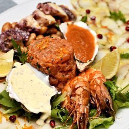 Degustační menu plné italských dobrot i s proseccem