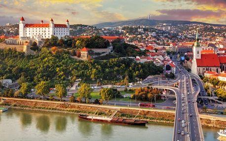 Výlet do Bratislavy s plavbou lodí po Dunaji