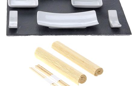 EH Excellent Houseware Souprava pro občerstvení, dresinky a předkrmy, sushi - 11 dílů