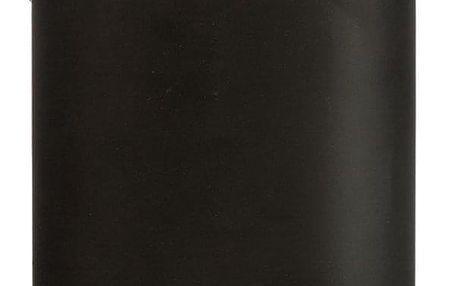 INSTANT D'O Koupelnový koš, odpadkový koš, koš s bambusovým krytem - barva černá, 3 l