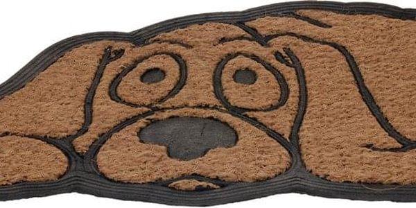 Emako Praktická rohožka DOG, kokosové vlákno, 45x75cm